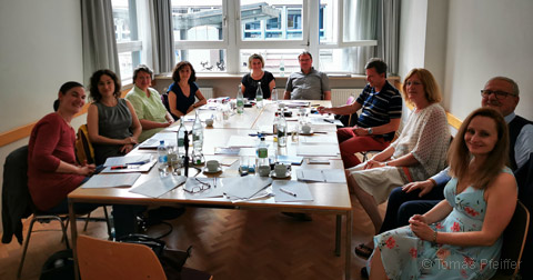 ANME e.V. (Association for Natural Medicine in Europe) Board meeting in Frankfurt/Main, Germany on 19 July 2019